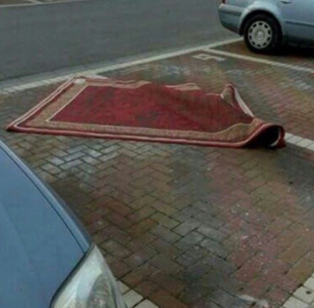 IRTI - funny picture #9026 - tags: Aladdin parking rug ...
