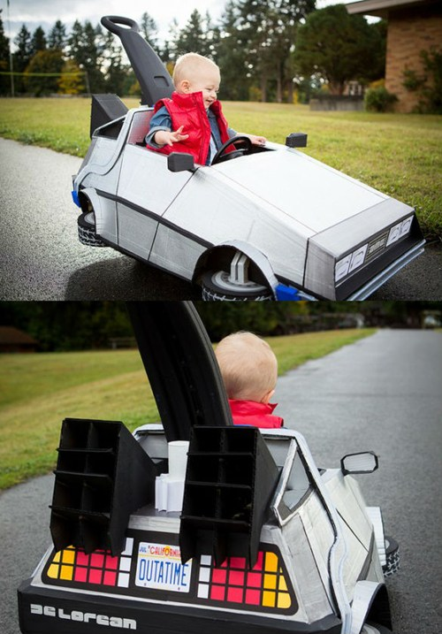 Car For Kids >> IRTI - funny picture #2256 - tags: back to the future delorean kids car homemade
