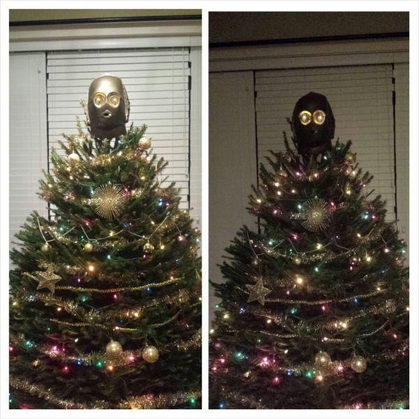 Star Wars Christmas Tree Lights: Tags: C3po Star Wars