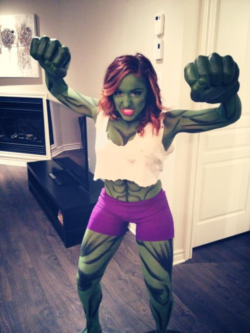 Irti Funny Picture 5781 Tags Girl Hulk She Hulk Costume