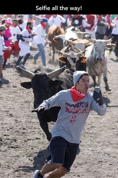 IRTI - funny picture #6452 - tags: spain bull run epic