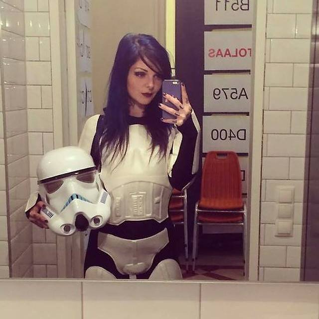 Irti - Funny Picture 8438 - Tags Star Wars Hot Girl -9140