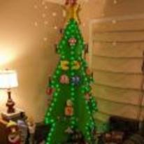 Radnom funny picture tags: 8-bit Christmas-tree christmas xmas tree