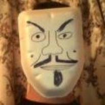 Radnom funny picture tags: DIY v-for-vendetta mask chicken packaging