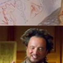 Radnom funny picture tags: Giorgio-Tsoukalos kid drawing aliens bath