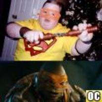 Radnom funny picture tags: Teenage-Mutant-Ninja-Turtles Down-Syndrome Michelangelo Downs Michael-Bay