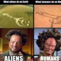 Currently trending funny picture tags: aliens earth humans mars penis