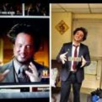 Radnom funny picture tags: ancient-aliens halloween costume George-Tsolakis cosplay