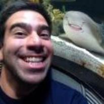 Radnom funny picture tags: aquarium selfie happy shark smile