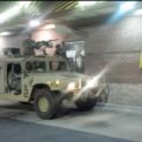 Radnom funny picture tags: army truck gun mcdonalds Drive-through
