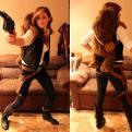 Radnom funny picture tags: awesome hansolo cosplay costume girl