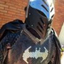 Currently trending funny picture tags: batman suit-of-armour knight metal costume