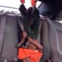 Radnom funny picture tags: black-twitter back-seat high-af upside-down kid
