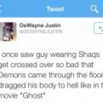 Radnom funny picture tags: black-twitter crossed-out shaqs dragged movie-ghost
