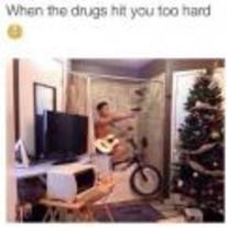 Radnom funny picture tags: black-twitter drugs-hit-too-hard bicycle-shower guitar Christmas-tree