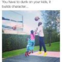 Radnom funny picture tags: black-twitter dunk-on-your-kids builds-character basketball chad-johnson