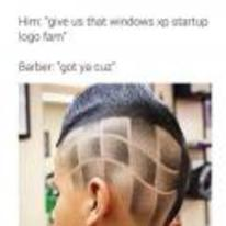 Radnom funny picture tags: black-twitter haircut windows-xp-startup-logo fam windows-logo