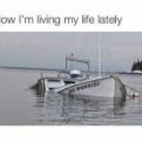 Radnom funny picture tags: black-twitter how-im-living-my-life boat-sinking no-worries tweet