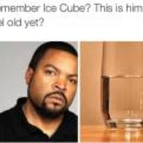 Radnom funny picture tags: black-twitter ice-cube remember-him feel-old glass-of-water