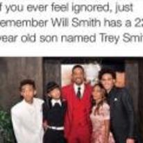 Radnom funny picture tags: black-twitter if-you-ever-feel-ignored will-smith son trey-smith