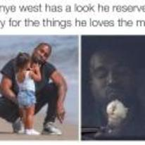 Radnom funny picture tags: black-twitter kanye-west things-he-loves face ice-cream