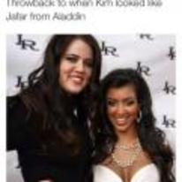 Radnom funny picture tags: black-twitter throwback kim-kardashian aladdin jafar