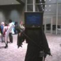Radnom funny picture tags: blue-screen-of-death death cosplay grim-reaper costume