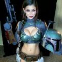 Currently trending funny picture tags: boba-fett girl cosplay hot boba-fettish