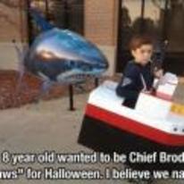 Radnom funny picture tags: brady jaws halloween costume shark