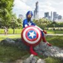 Radnom funny picture tags: captain-america turban Sikh cosplay awesome