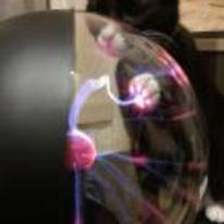 Radnom funny picture tags: cat plasma-ball paw cool electricity