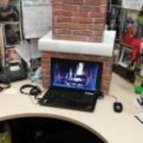 Radnom funny picture tags: christmas office fire Chimney xmas