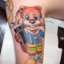 Radnom funny picture tags: conkers bad-furr-day tattoo n64 thats-why