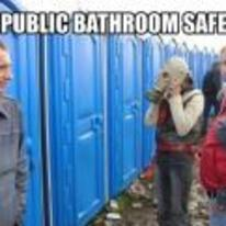 Radnom funny picture tags: correct festival bathroom usage gas-mask