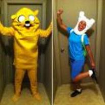 Radnom funny picture tags: couple halloween costume adventure-time finn-and-jake