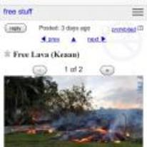 Radnom funny picture tags: craigslist honolulu lava free-lava get-it-while-its-hot