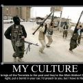 Radnom funny picture tags: culture brings terrorists milkshake demotivational