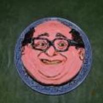 Radnom funny picture tags: danny-devito face cake always-sunny random