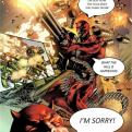 Radnom funny picture tags: daredevil shooting blind sorry whats-happening