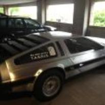 Radnom funny picture tags: delorean other-car tardis sticker back-to-the-future