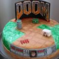 Radnom funny picture tags: doom doom-cake ID cake birthday-cake