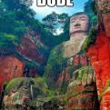 Radnom funny picture tags: dude-im-stoned statue high epic Leshan-Giant-Buddha