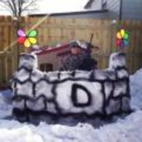 Radnom funny picture tags: epic snow snow-fort gun proud