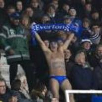 Currently trending funny picture tags: everton fan swimming speedos swim