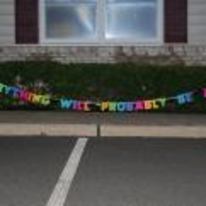 Radnom funny picture tags: everything-will-probably-be-alright party banner sign celebration