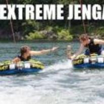 Radnom funny picture tags: extreme jenga boat water pulled