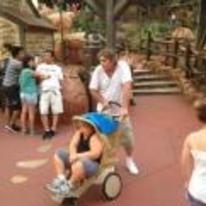 Radnom funny picture tags: fat kid pram weird park