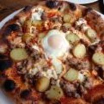 Radnom funny picture tags: fried-egg pizza nice egg middle