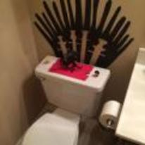 Radnom funny picture tags: game-of-thrones throne iron-throne toilet loo