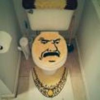 Radnom funny picture tags: gangsta toilet cover Aqua-Teen-Hunger-Force Carl